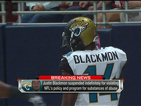 Blackmon suspended indefinitely