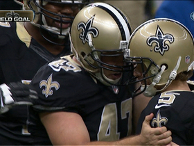 Garrett Hartley kicks game-winning field goal