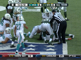 Matt Simms fumble