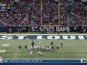 Rams defense, blocked field goal