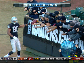 Streater 14-yard touchdown catch