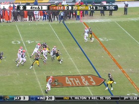 Steelers defense, 4th down failed