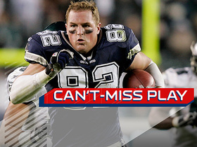 Can't-Miss Play: Witten loses helmet, keeps running for 53-yard gain