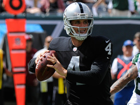 Wk 1 Can't-Miss Play:  Carr's first NFL touchdown