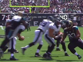 Foles fumbles for the second time