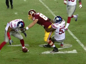Giants recover Paulsen's fumble