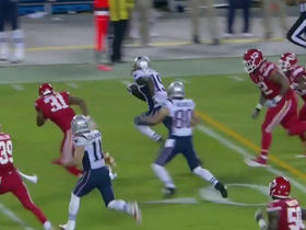 Garoppolo throws screen pass to LaFell for 37 yards