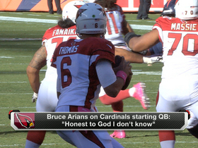 Cardinals won't know who starting QB is until game day