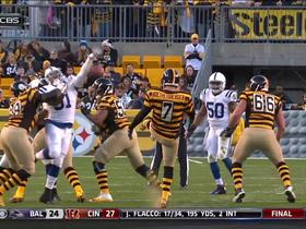Colts block and recover punt by Roethlisberger