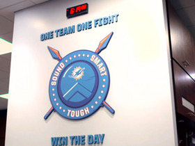 Miami Dolphins: One Team, One Fight