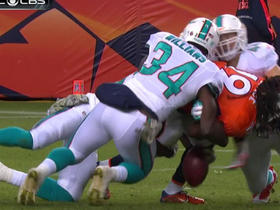 Dolphins force fumble on punt return