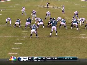 Celek fumble recovered by Dallas