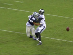 Cowboys Gavin Escobar has ball stripped by Eagles Malcolm Jenkins