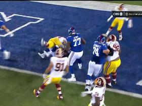 Giants Andre Williams 1-yard TD run