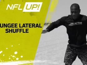 NFL Up!: Bungee Lateral Shuffle