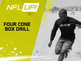 NFL Up!: Four Cone Box Drill