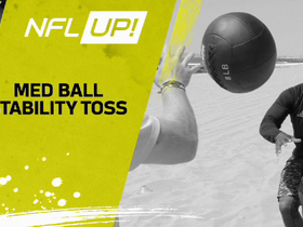 NFL Up!: Med Ball Stability Toss