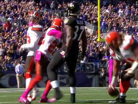 Ravens Javorius Allen runs for 44 yards