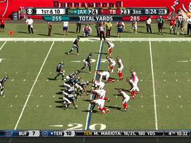 Buccaneers Jacquies Smith recovers Jaguars fumble for 3-yard touchdown.
