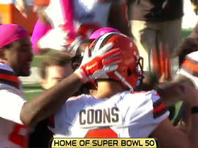 Browns Travis Coons 32-yard game-winning field goal in OT