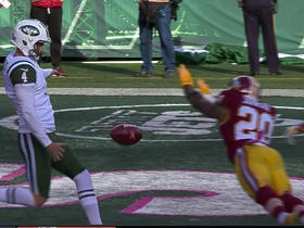 Redskins Rashad Ross recovers blocked punt for touchdown