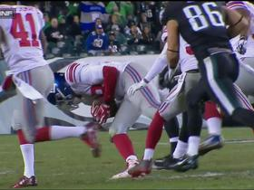 Giants recover forced fumble