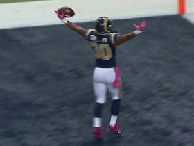 Rams Todd Gurley scores first NFL touchdown