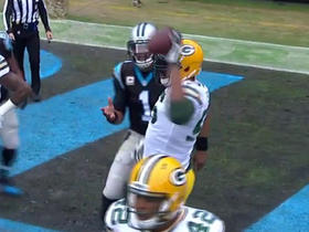 Packers Julius Peppers plays keep away from Cam