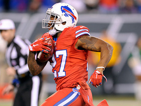 I'll take that! Bills Duke Williams recovers fumble for a TD