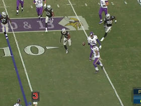 Vikings Teddy Bridgewater flips it to Matt Asiata for 11 yards