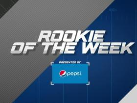 Week 10: Pepsi Rookie of the Week winner