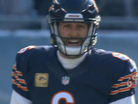 Bears Jay Cutler hits Marquess Wilson for 29 yards
