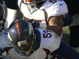 Bears Jay Cutler intercepted by Danny Trevathan