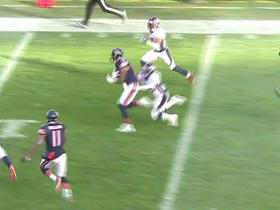 Bears Jay Cutler throws 40-yard pass to Marquess Wilson