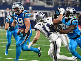 Can't-Miss Play: Kuechly picks off Romo on back-to-back plays