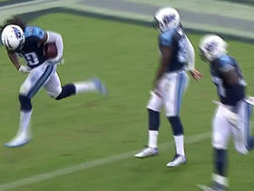 Titans Daimion Stafford fumble recovery