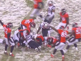 Broncos recover fumble