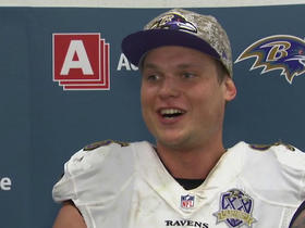 Brent Urban reacts to game-winning blocked FG