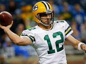 Rodgers skyrockets incomplete pass