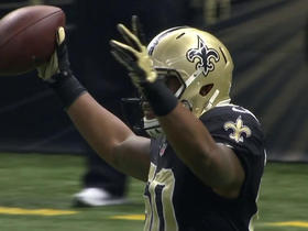 Saints Stef Anthony recovers forced fumble for six