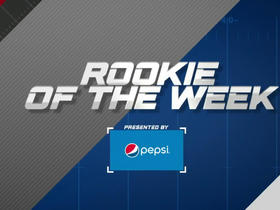 Week 13: Pepsi Rookie of the Week nominees