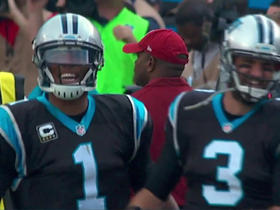 Panthers Derek Anderson hits Philly Brown, teammates get pumped up