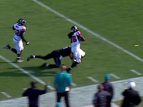 Blake Bortles picked off, saves TD with tackle