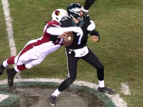 Markus Golden forces Sam Bradford fumble