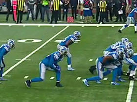 Lions fake a punt for a first down