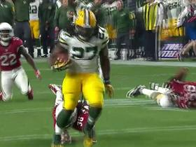 Packers Aaron Rodgers finds Eddie Lacy for 28-yard touchdown