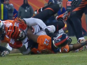 Bengals recover forced fumble