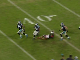 Thomas Davis intercepts Jameis Winston
