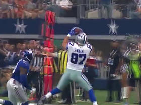 Dak Prescott completes pass to Geoff Swaim for 21 yards
