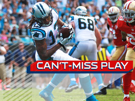 Can't-Miss Play: Cam Newton finds Kelvin Benjamin for 9-yard TD